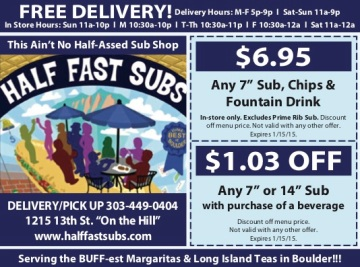 Half Fast Subs CU 0814
